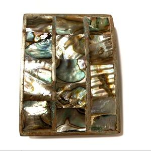Jewelry - Belt Buckle with Abalone Inlays